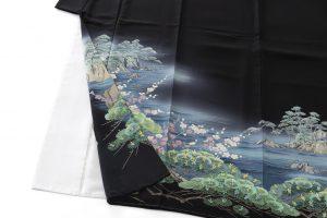 毎田健治作 本加賀友禅留袖のサブ2画像