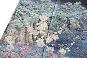 毎田健治作 本加賀友禅留袖のサブ4画像