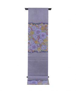 初代久保田一竹作 袋帯「蒼韻」のメイン画像