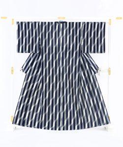 森山哲浩作 重要無形文化財 久留米絣着物のメイン画像