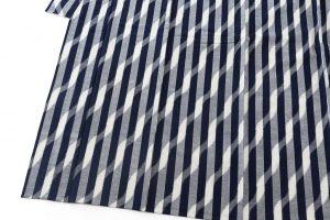 森山哲浩作 重要無形文化財 久留米絣着物のサブ2画像