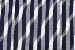 森山哲浩作 重要無形文化財 久留米絣着物のサブ3画像