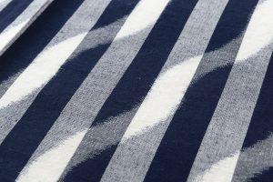 森山哲浩作 重要無形文化財 久留米絣着物のサブ4画像