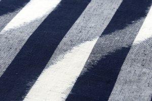 森山哲浩作 重要無形文化財 久留米絣着物のサブ5画像