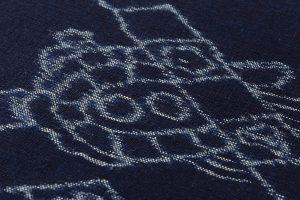 ごとう絣店製 弓浜絣 綿着尺のサブ3画像