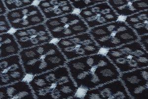 田中キヨコ作 久留米絣 着尺のサブ3画像