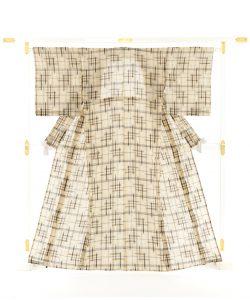 新里玲子作 宮古上布 着物のメイン画像