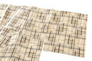 新里玲子作 宮古上布着物のサブ1画像