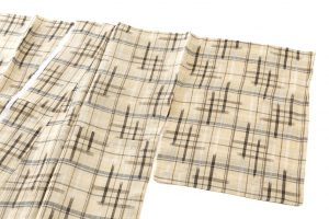 新里玲子作 宮古上布 着物のサブ1画像