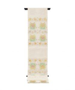 龍村平蔵製 袋帯 「羊花堆朱錦」のメイン画像