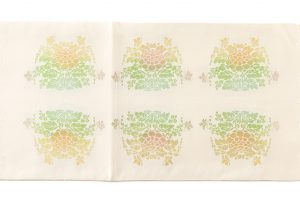 龍村平蔵製 袋帯 「羊花堆朱錦」のサブ3画像