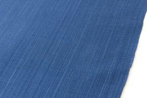 芝崎圭一作 座繰手引糸藍染紬 着尺のサブ2画像