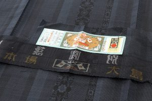 夏大島紬着物 のサブ6画像