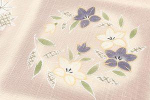 工芸きもの野口製 紗紬名古屋帯地のサブ2画像