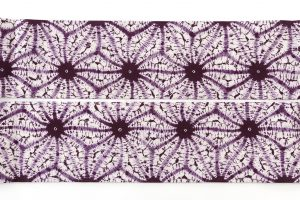 紫根染 綿名古屋帯のサブ5画像