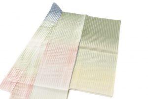 人間国宝 土屋順紀作 生絹(すずし)着物「荷風香気」紋紗のサブ1画像
