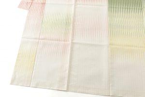 人間国宝 土屋順紀作 生絹(すずし)着物「荷風香気」紋紗のサブ2画像