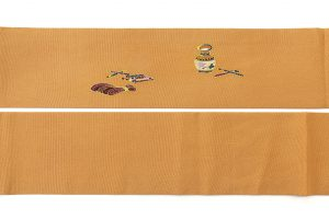 東京染繍大彦製 縮緬名古屋帯のサブ6画像