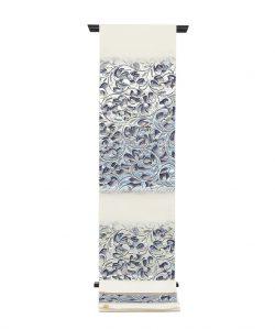 たつむら製 袋帯 「彫銀唐草文」のメイン画像