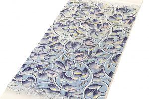 たつむら製 袋帯 「彫銀唐草文」のサブ1画像