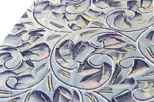 たつむら製 袋帯 「彫銀唐草文」のサブ2画像