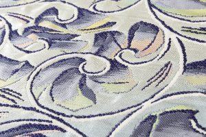 たつむら製 袋帯 「彫銀唐草文」のサブ3画像