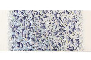 たつむら製 袋帯 「彫銀唐草文」のサブ4画像