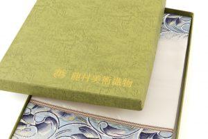 たつむら製 袋帯 「彫銀唐草文」のサブ6画像