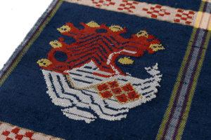 龍村平蔵製 袋帯「甲比丹孔雀」のサブ3画像