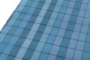 小岩井カリナ作 手織り上田紬「水面」着尺のサブ2画像