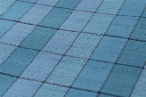 小岩井カリナ作 手織り上田紬「水面」着尺のサブ3画像