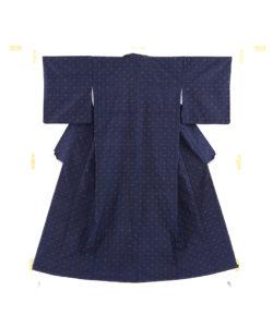 秋山眞和作 綾の手紬着物のメイン画像