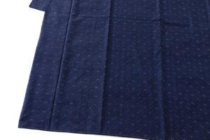 秋山眞和作 綾の手紬着物のサブ2画像