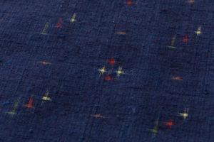 秋山眞和作 綾の手紬着物のサブ5画像