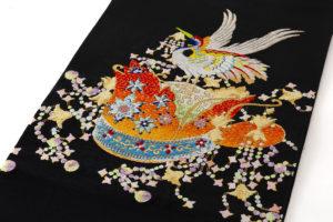 龍村光翔作 袋帯「宝冠錦」 のサブ1画像