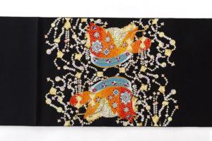 龍村光翔作 袋帯「宝冠錦」 のサブ4画像