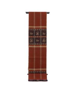 龍村平蔵製 袋帯「甲比丹仙瓢」のメイン画像