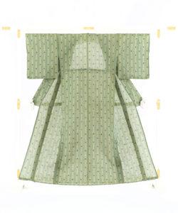 新垣幸子作 八重山上布 着物のメイン画像
