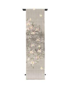 鈴木紀絵作 型絵染名古屋帯のメイン画像
