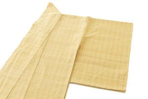 藤山千春作 草木染手織物吉野間道 紬着物地のサブ1画像