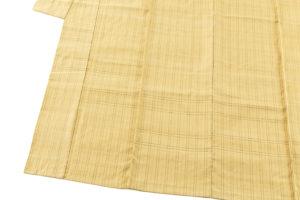 藤山千春作 草木染手織物吉野間道 紬着物地のサブ2画像