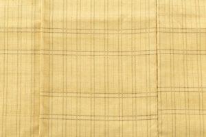 藤山千春作 草木染手織物吉野間道 紬着物地のサブ3画像