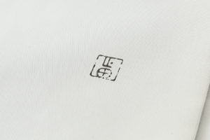人間国宝 山田貢作 塩瀬名古屋帯のサブ6画像