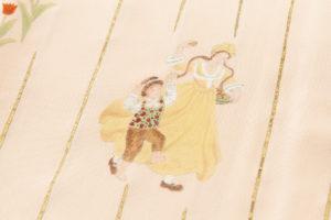 訪問着 西欧民族舞踊柄のサブ6画像