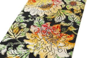 龍村平蔵製 丸帯「大牡丹印金錦」のサブ1画像
