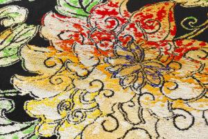 龍村平蔵製 丸帯「大牡丹印金錦」のサブ2画像