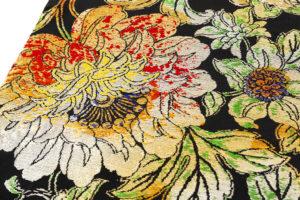 龍村平蔵製 丸帯「大牡丹印金錦」のサブ3画像