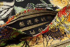 龍村平蔵製 丸帯「大牡丹印金錦」のサブ5画像