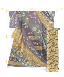 京屋林蔵製 総刺繡訪問着セット(訪問着・袋帯)のメイン画像