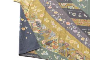 京屋林蔵製 総刺繡訪問着セット(訪問着・袋帯)のサブ2画像